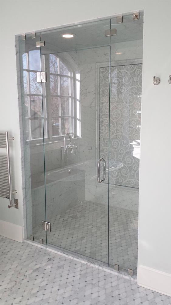 Petersen Custom Glass Shower And Glass Install Parker Co