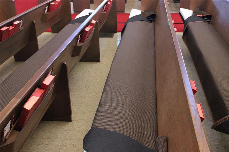 Waggoners Inc Pew Cushions And Pew Upholstery