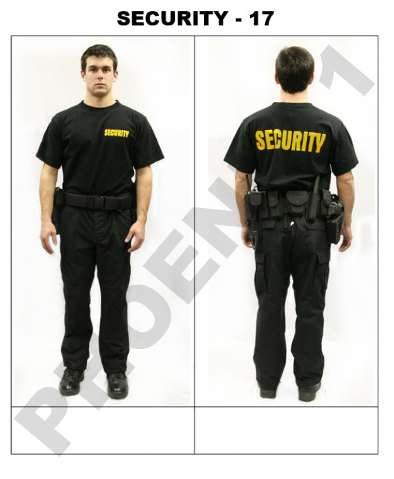 Security Guard Dress