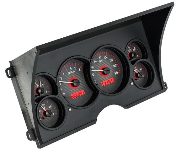 92 Chevy Truck Interior Gauges