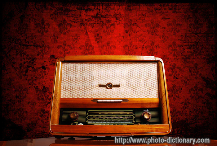 Vintage Radio Photo Picture Definition At Photo