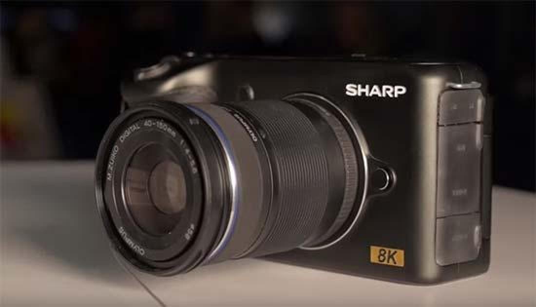 Sharp 8k Video Camera At Ces 2019 Photography Blog