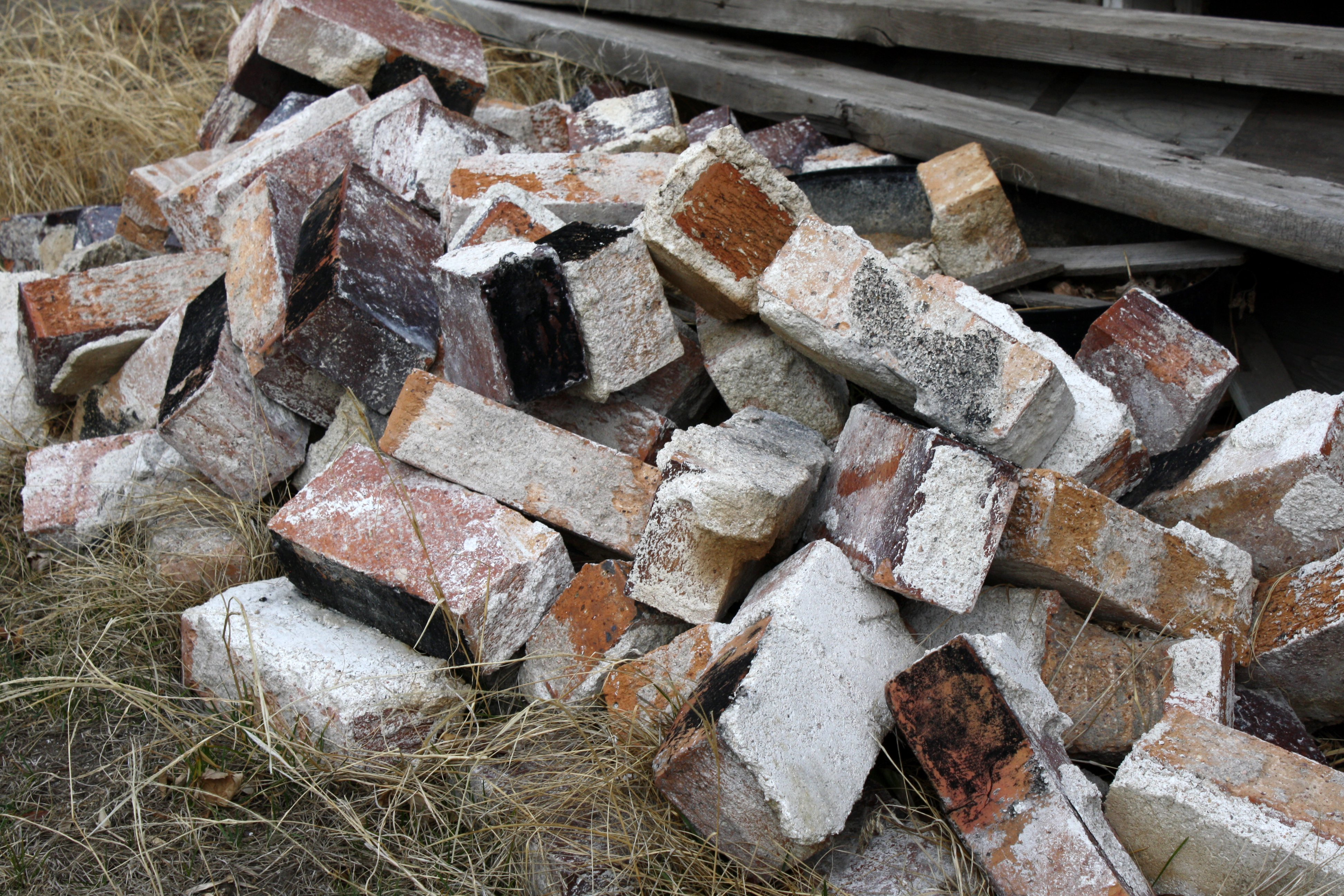 Pile of Old Bricks Picture | Free Photograph | Photos ...