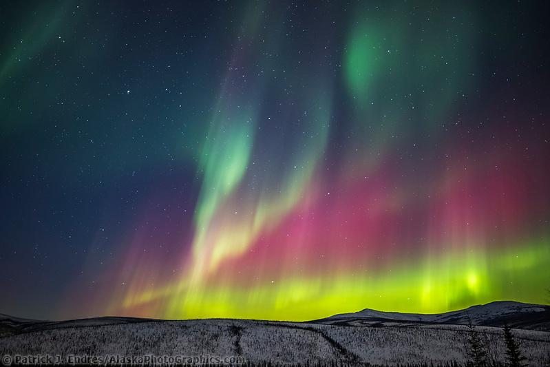 University Alaska Northern Lights