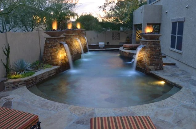 Small Pond Waterfall Ideas