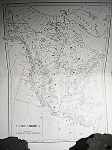 1800 S BOOK Map of America Antique Map US Maps Old Maps 1800 s     1800 s Book Map of America Antique Map US Maps Old Maps 1800 s United  States Map
