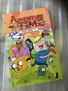 ADVENTURE TIME COMIC Book Volume 4 Graphic Novel Titan Comics     Adventure Time Graphic Novel Comic Volume 2 Good Condition