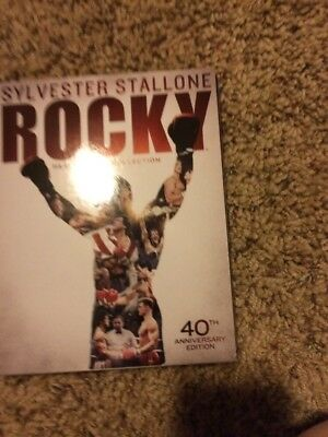 Rocky: Heavyweight Collection (Blu-ray Disc, 2014, 6-Disc ...