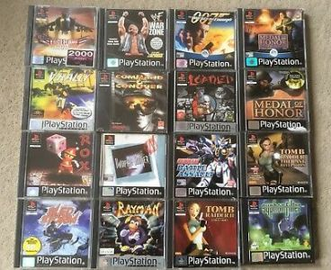 JOBLOT OF PS1 Games Tested Working Pal PlayStation       43 89     Joblot Of Ps1 Games Tested Working Pal PlayStation