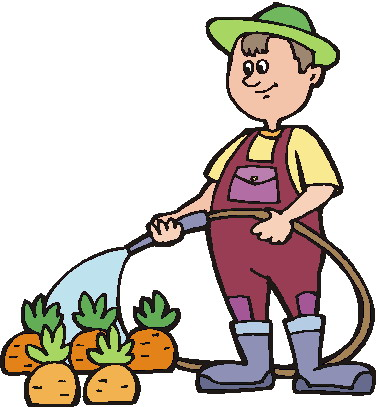 people gardening clip art - 750×806