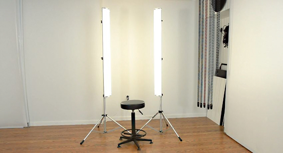Fluorescent Studio Lights