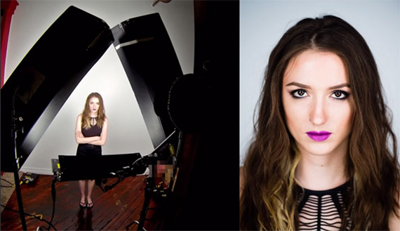 Continuous Lighting Setup Portraits