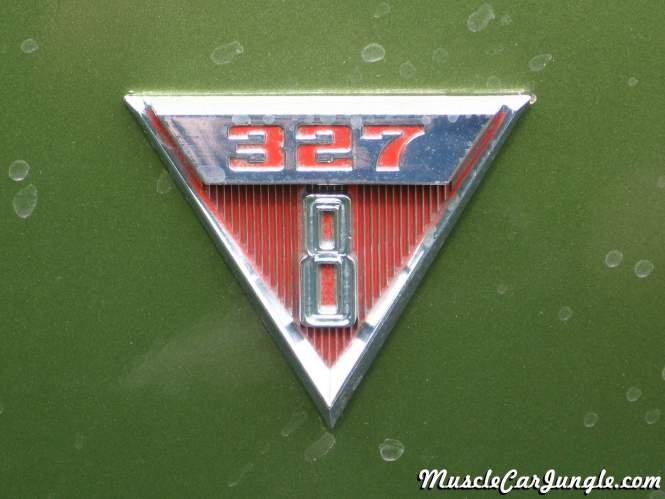 1968 Pontiac Beaumont 327 Emblem