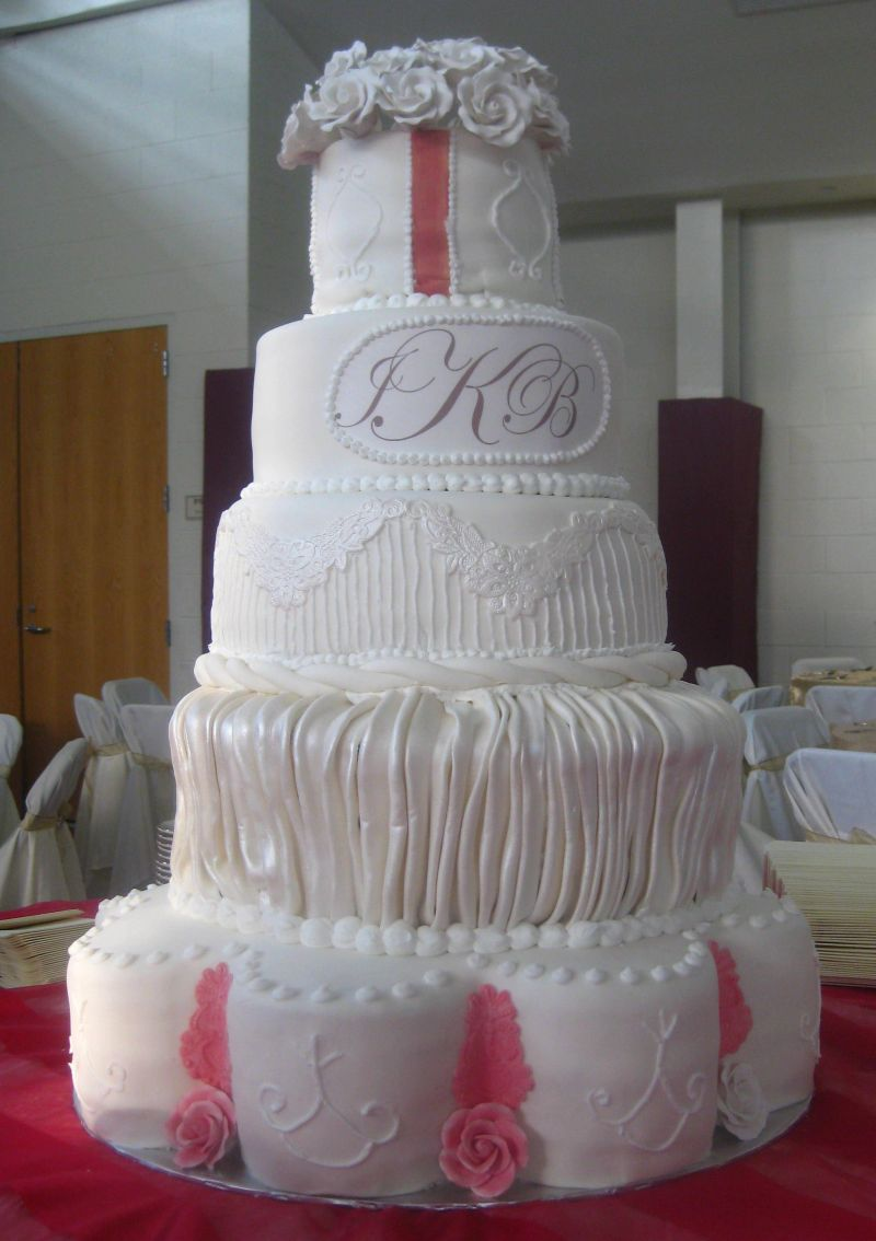 Piece A Cake Prices in Raleigh  Fuquay Varina  large wedding cakes image