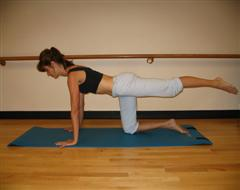 Hip Extension Exercise Using Pilates