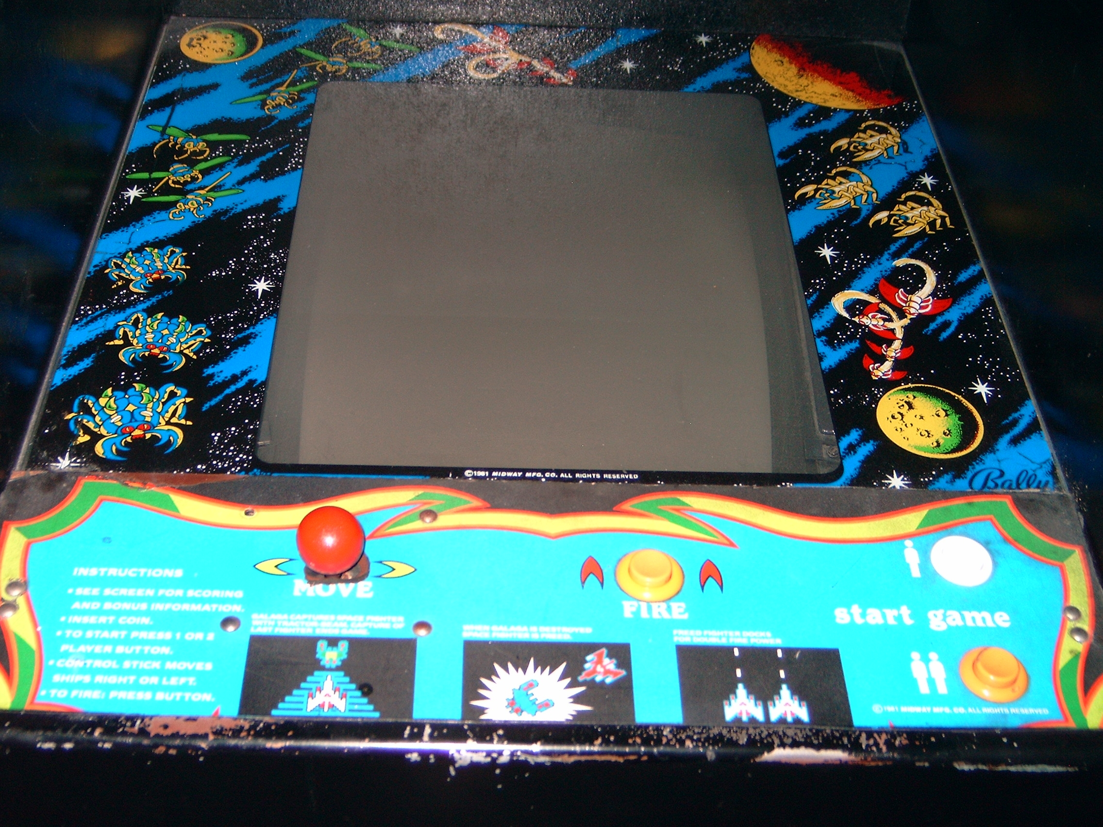 Pinball Medic Coin Op Galaga Arcade Video Game For Sale