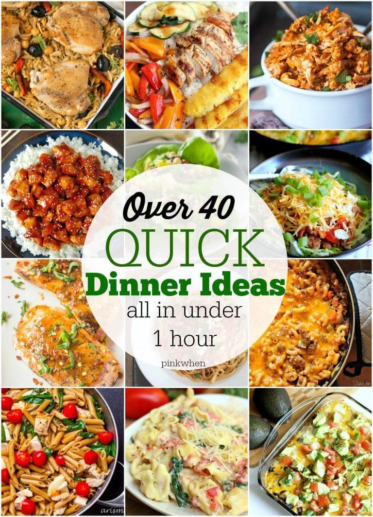 Quick Easy Dinner Recipes