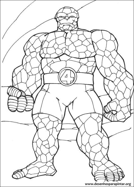 Rockman Superhero Coloring Pages Fantastic