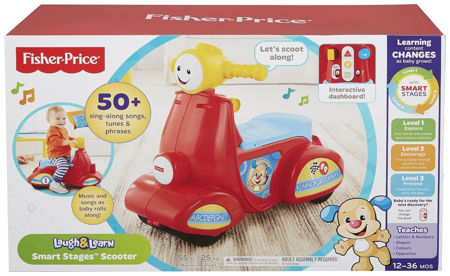 Fisher Price Learn And Grow