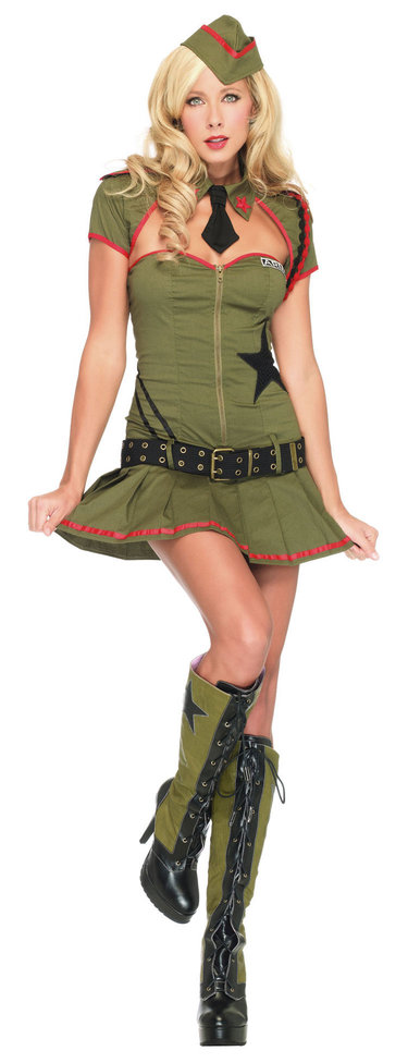 Pin Up Costume Ideas - Look like a pin up girl for a night!