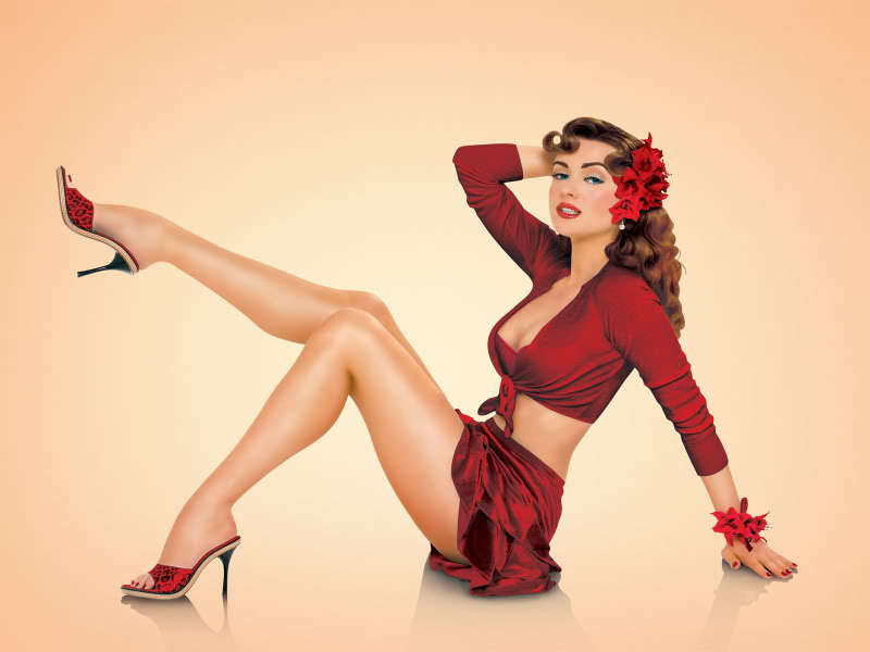 Pin Up Gallery - Stunning Pin Up Girls