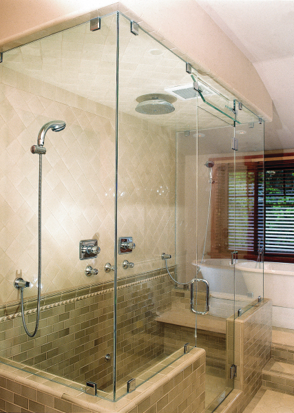 Shower Enclosure Heavy Glass Pattern Examples Pioneer