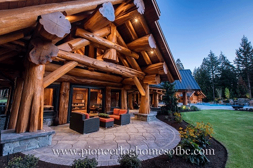 Gallery Log Post Amp Beam Pioneer Log Homes Midwest
