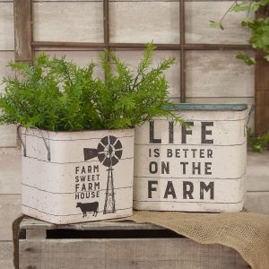 Buy Country Style Home Decorations Online   Shop Farmhouse Style     Country Primitive Home D    cor  99       Baskets   Containers