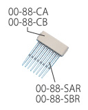 Model 8800 Cartridge for 520μL Syringe, 10/box (Nichiryo)