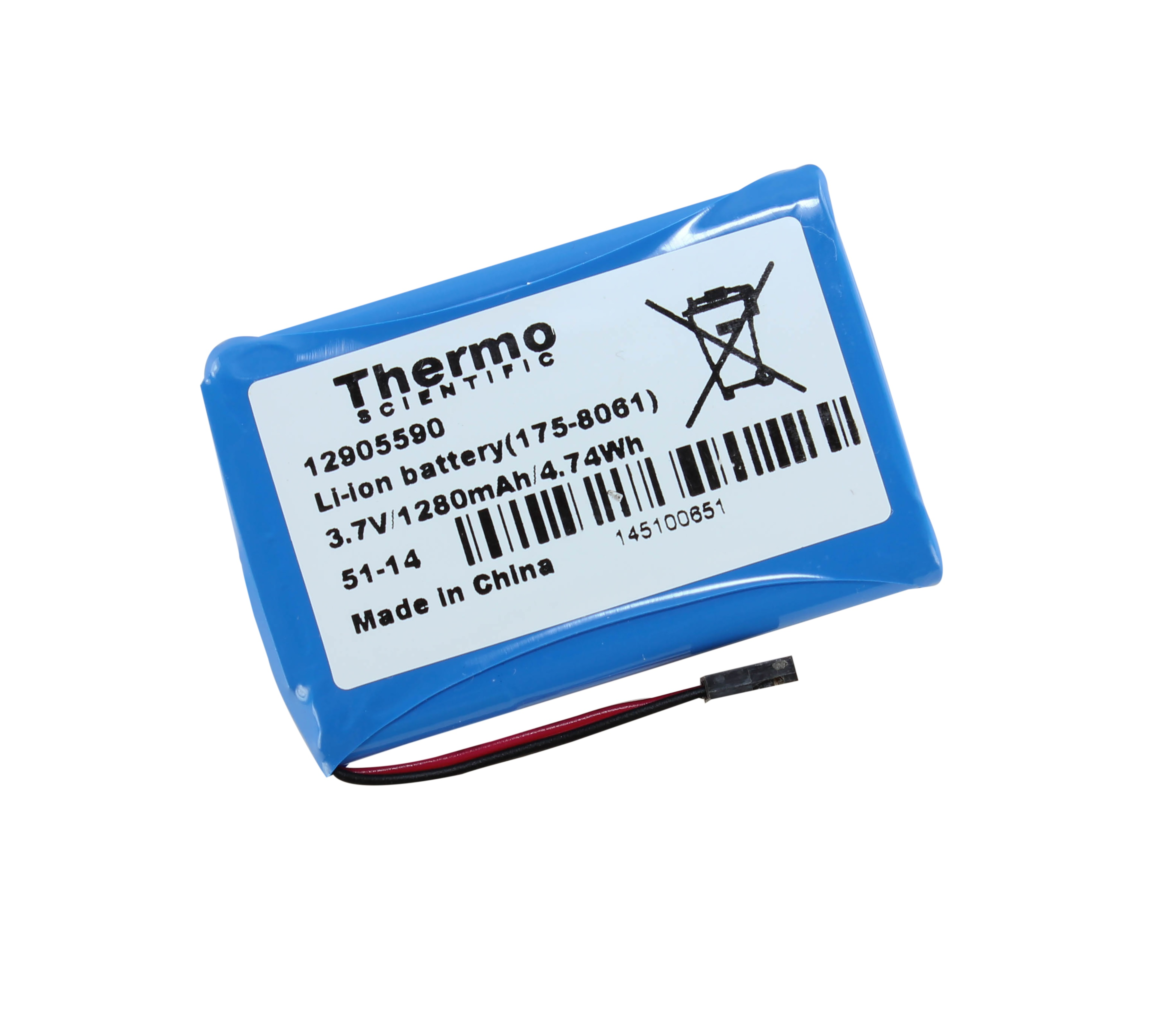 E1 Clip Tip Lithium-ion Battery, Single and Multichannel (Thermo Scientific)