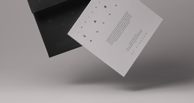 Business Card Packaging