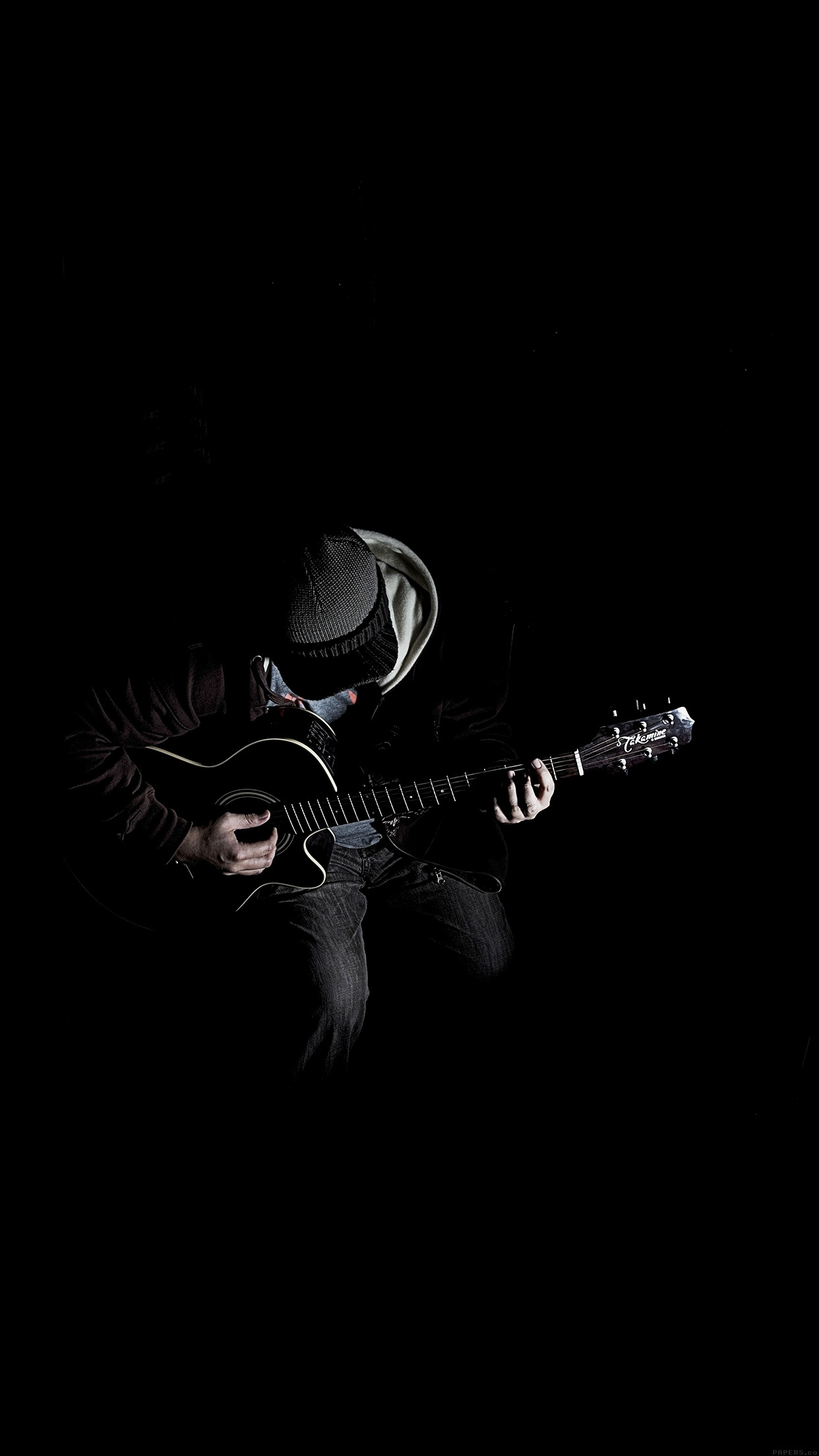10 Latest Black Wallpaper Hd Android FULL HD 1080p For PC Background     Title   out the dark guitar player music android wallpaper     android hd   Dimension   1242 x 2208  File Type   JPG JPEG