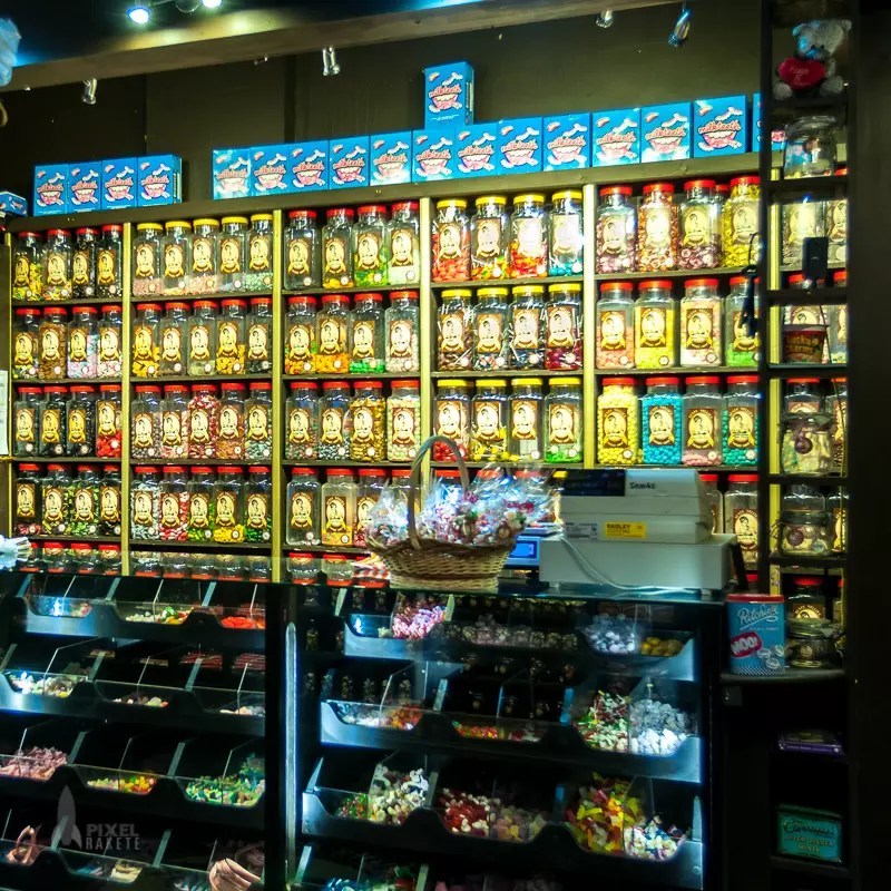 Interiour of Candy Shop, Quater Temple Bar, Dublin, Ireland