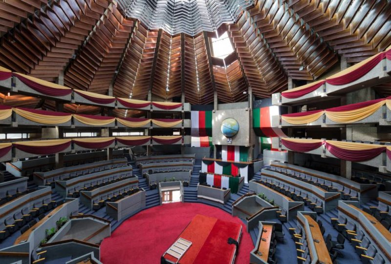 Kenyatta International Conference Centre, Nairobi (Kenya), by Karl Henrik Nostvik, 1967-1973. Image © Iwan Baan
