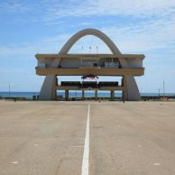 Independence Arch, Accra (Ghana) by the Public Works Departments, 1961. Image Courtesy of Manuel Herz