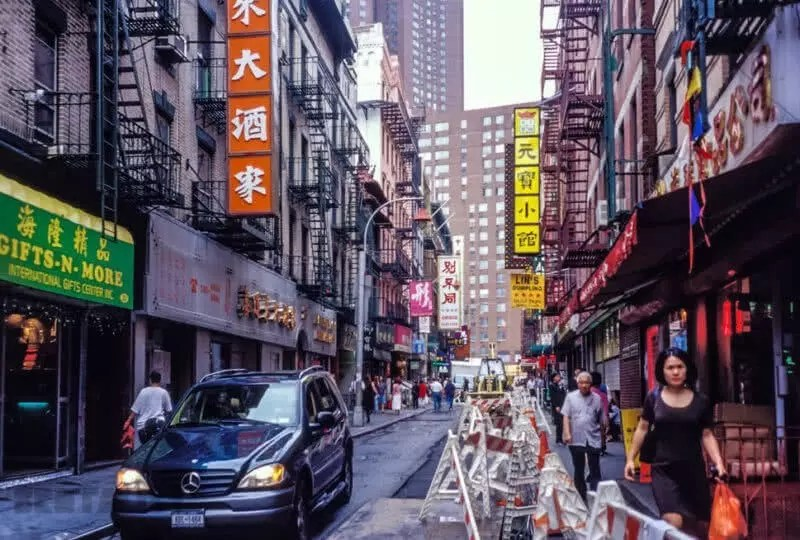 Pell St, Chinatown, New York