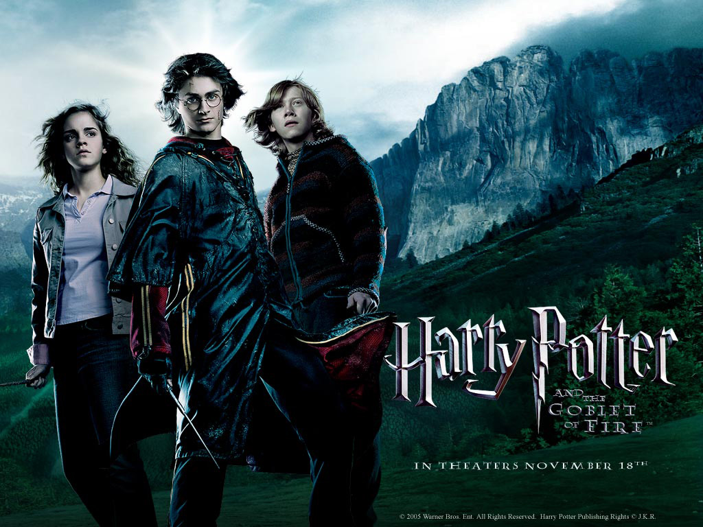 Potter Goblet Harry Main Characters Fire