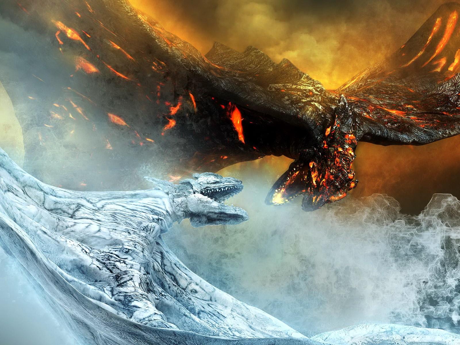 Download Free Ice Dragon Wallpapers Pixelstalk Net