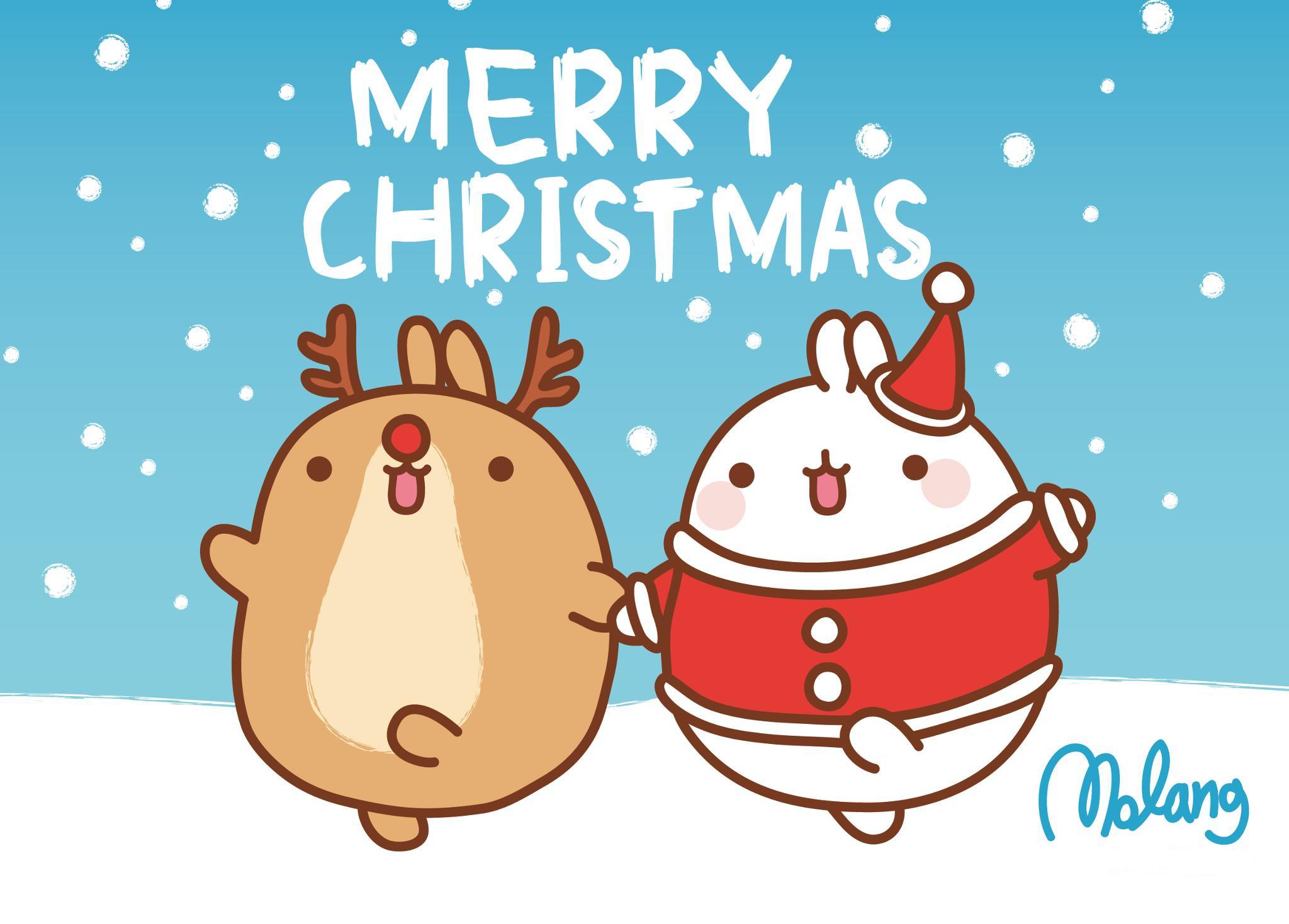Free Download Cute Christmas Wallpapers | PixelsTalk.Net