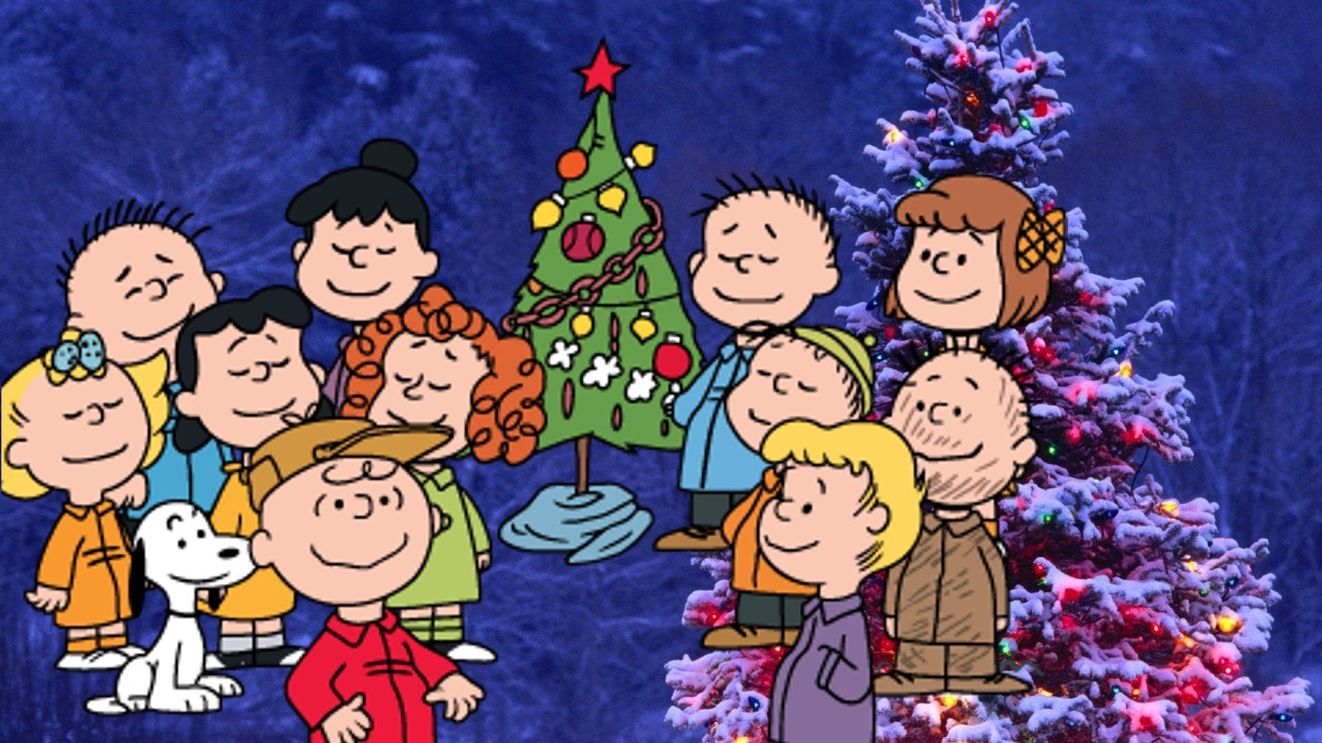 charlie brown christmas music - HD 1920×1080