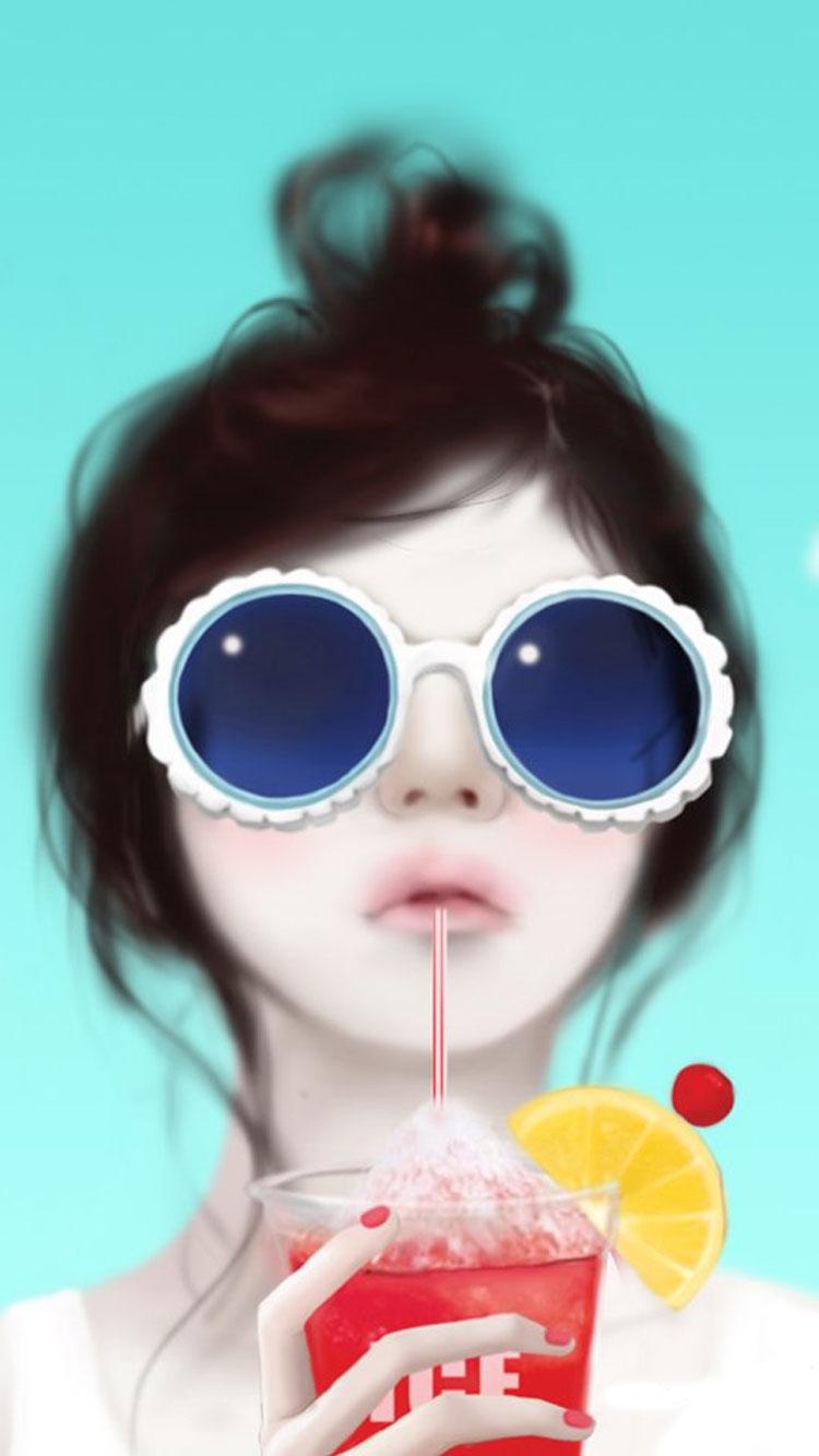 Girly iPhone Wallpaper   PixelsTalk.Net
