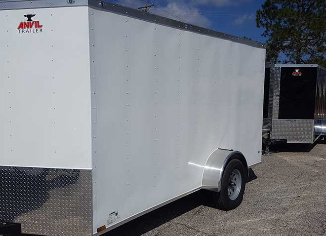 Anvil V Nose 6x10 Single Axle Cargo Trailers For Sale