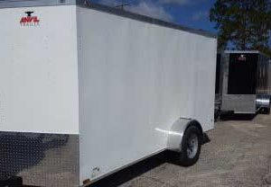 Anvil V Nose Tandem Axle 6x12 Cargo Trailers For Sale