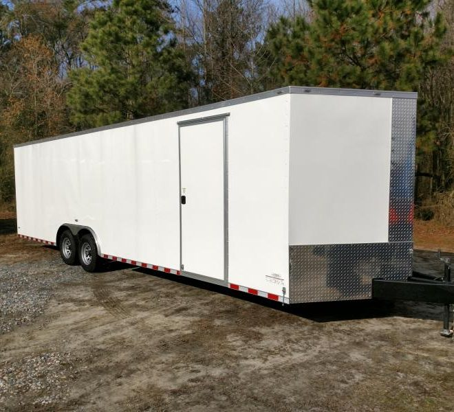 Anvil V Nose Tandem Axle 8.5x28 Cargo Trailer