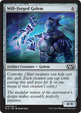 Will Forged Golem Magic 2015 M15 Magic The