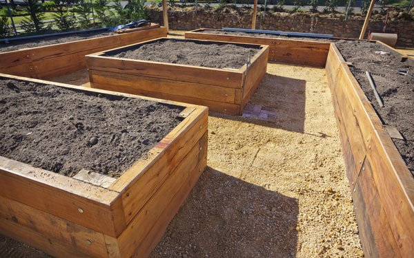 How Build Raised Planter Box Vegetables