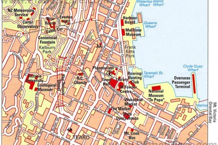 south and east auckland tourist map » Full HD MAPS Locations ...
