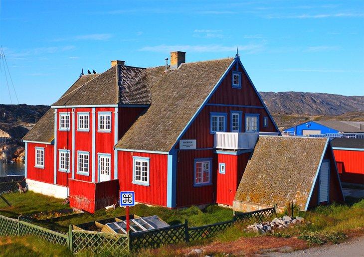 Kangerlussuaq Greenland Northern Lights