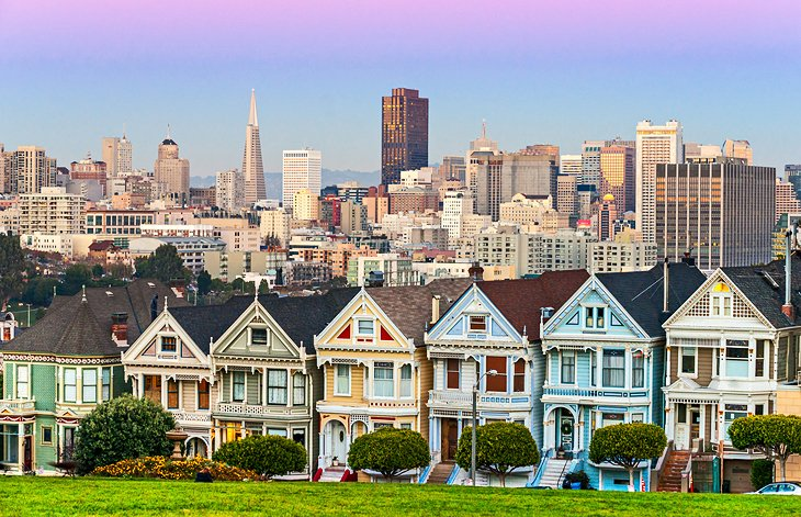 11 Best Places to Visit in California   PlanetWare Painted Ladies