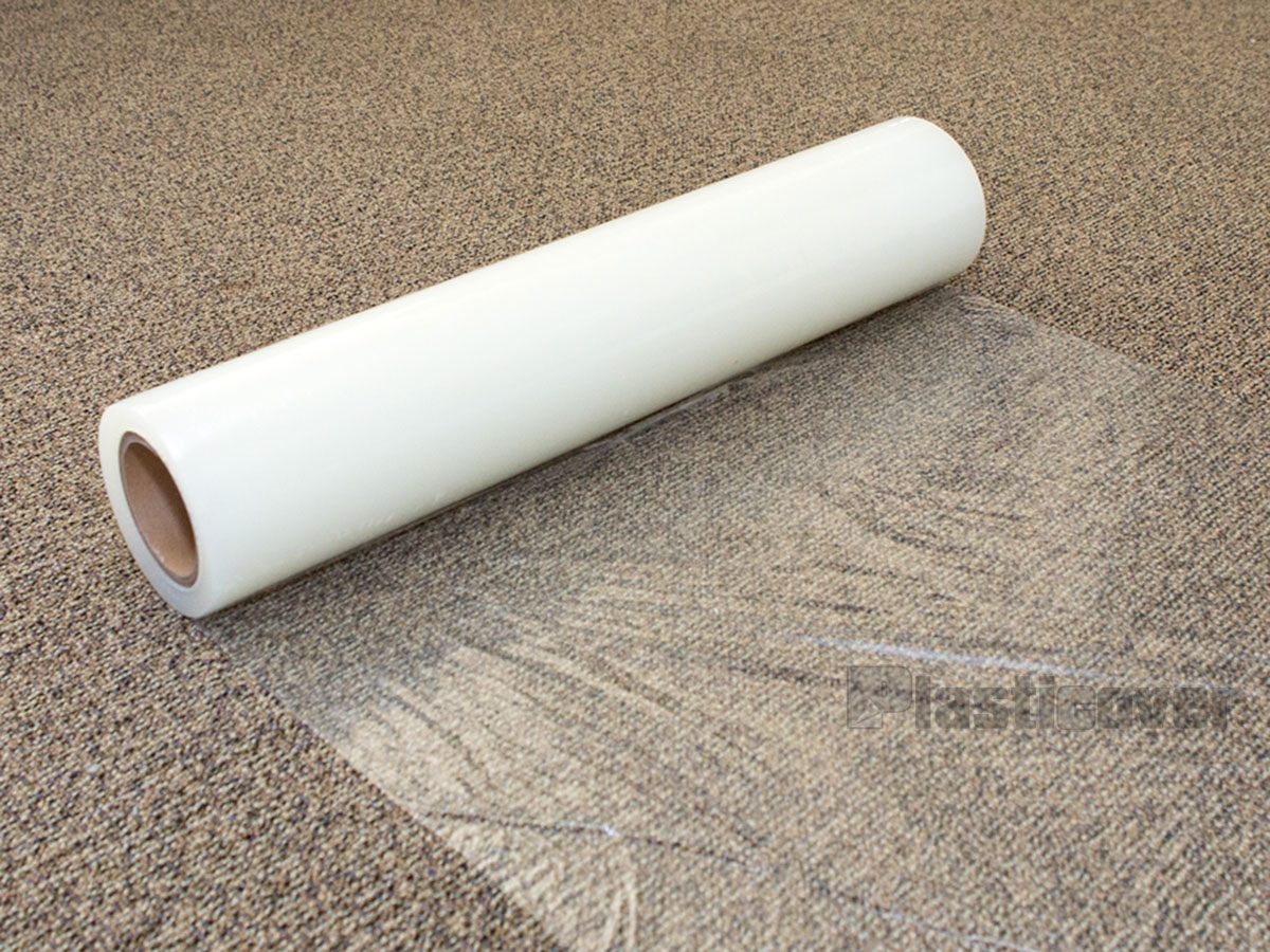 Carpet Protection Film | Temporary Carpet For Stairs | Non Slip | Stair Treads | Tile | Protection | Plastic